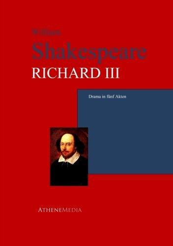 9783736400894: Richard Iii: Drama In Fünf Akten