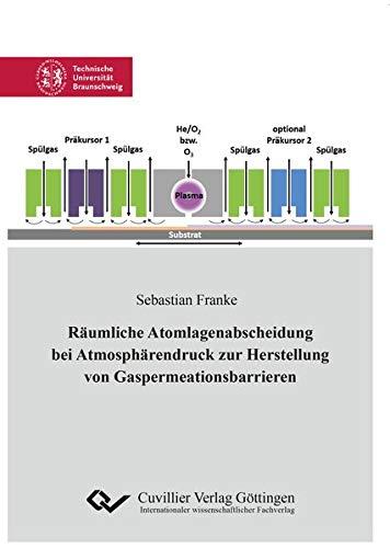Räumliche Atomlagenabscheidung bei Atmosphärendruck zur Herstellung von Gaspermeationsbarrieren (...