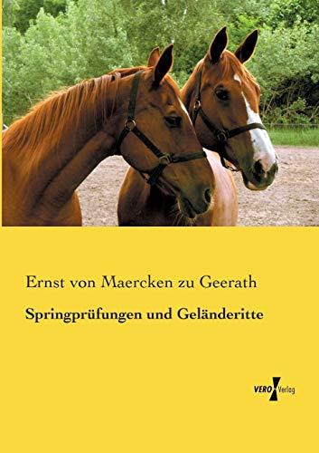 9783737200967: Springprufungen Und Gelanderitte