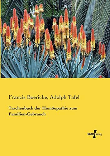 Taschenbuch Der Homoopathie Zum Familien-Gebrauch (Paperback): Francis Boericke, Adolph Tafel