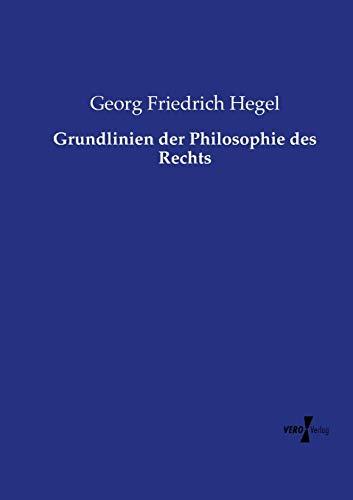 9783737207713: Grundlinien Der Philosophie Des Rechts
