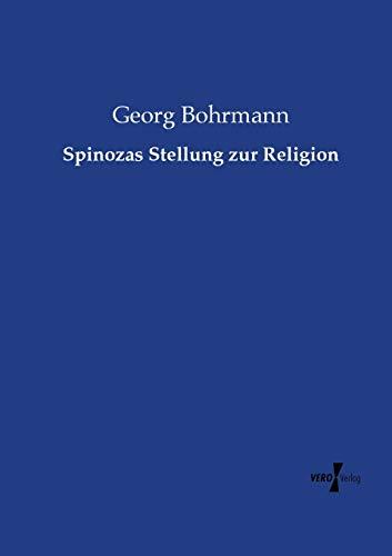 9783737217095: Spinozas Stellung zur Religion