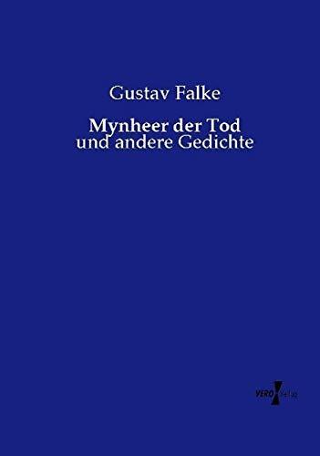 9783737218405: Mynheer der Tod: und andere Gedichte