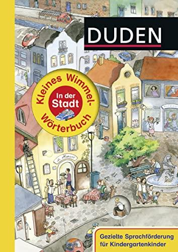 9783737330398: Duden - Kleines Wimmel-Wörterbuch - In der Stadt