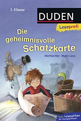 9783737332187: Leseprofi - Die geheimnisvolle Schatzkarte, 1. Klasse