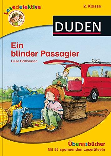 9783737335065: Lesedetektive Übungsbücher - Ein blinder Passagier, 2. Klasse