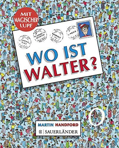 Wo ist Walter?: Minibilderbuch mit magischer Lupe: Martin Handford