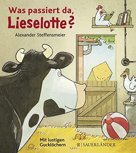 9783737361569: Was passiert da, Lieselotte?: Mit lustigen Gucklöchern