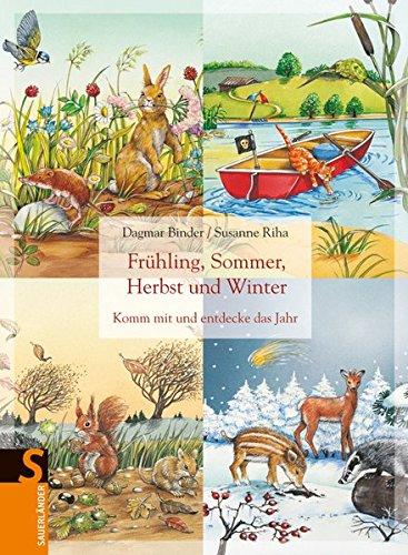 9783737364218: Frühling, Sommer, Herbst und Winter: Komm mit und entdecke das Jahr
