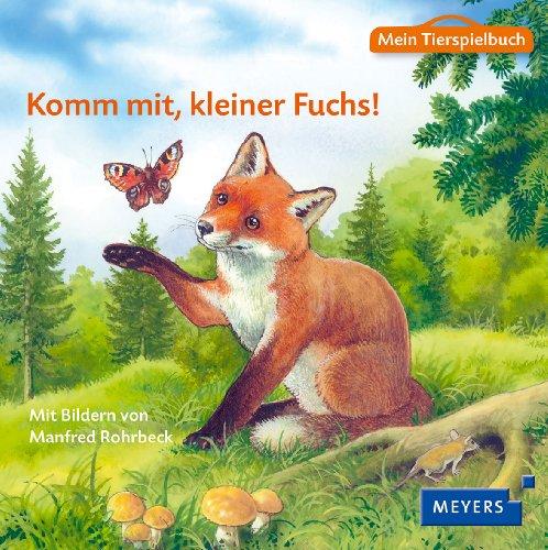 9783737370219: Mein Tierspielbuch: Komm mit, kleiner Fuchs!: Pappbilderbuch mit Schleich-Tierfigur in Spielkoffer