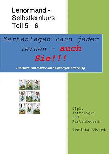 9783737589840: Kartenlegen kann jeder lernen - auch Sie!!! Lektion 5-6