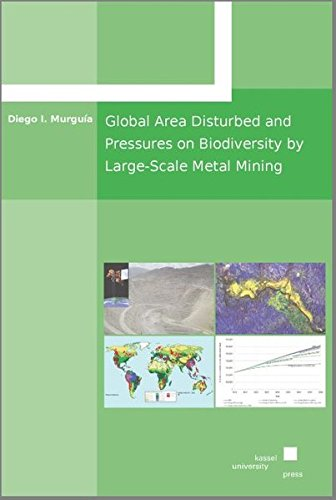 Global Area Disturbed and Pressures on Biodiversity by Large-Scale Metal Mining: Diego I. Murguia