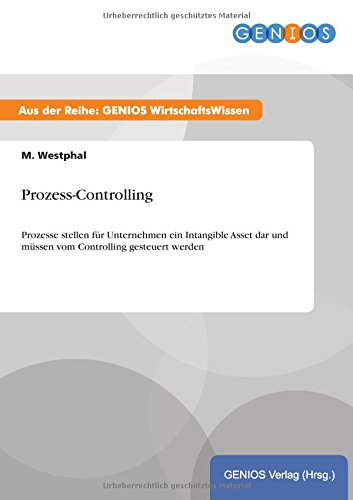 9783737932523: Prozess-Controlling
