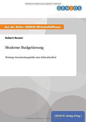 9783737932745: Moderne Budgetierung