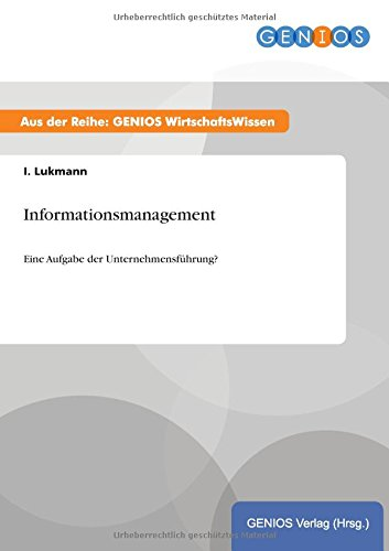Informationsmanagement: I Lukmann