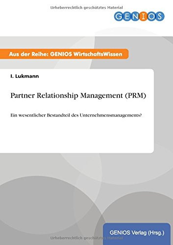 Partner Relationship Management (Prm): I Lukmann