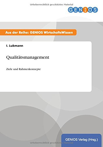 Qualitatsmanagement: I Lukmann