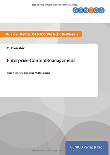 9783737934626: Enterprise-Content-Management