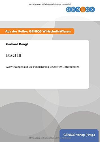 9783737935579: Basel III (German Edition)