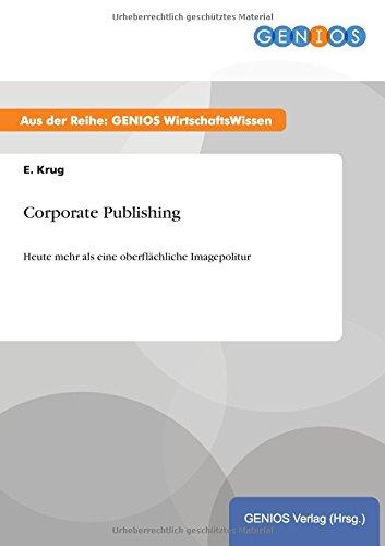 Corporate Publishing (Paperback) - E Krug
