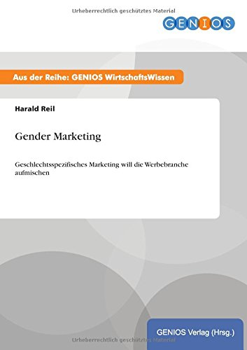 9783737936569: Gender Marketing