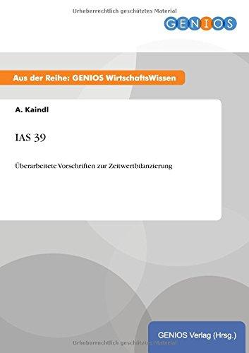 IAS 39: A Kaindl