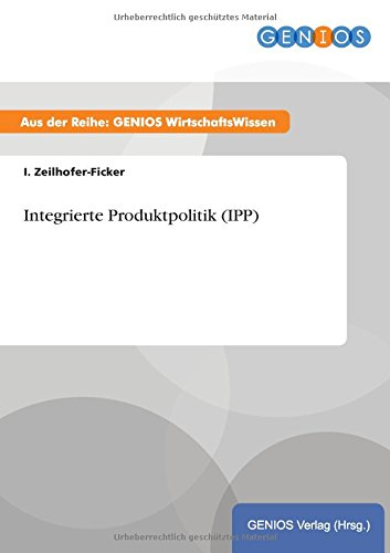 9783737941303: Integrierte Produktpolitik (IPP)