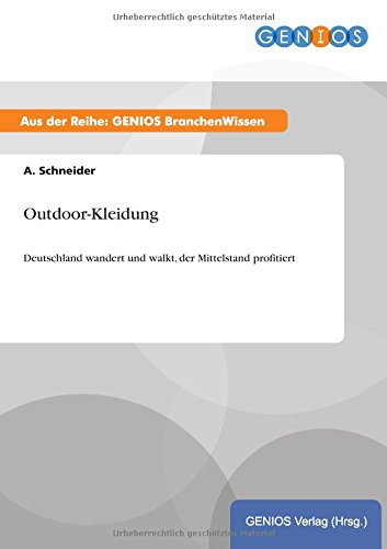 9783737952668: Outdoor-Kleidung (German Edition)