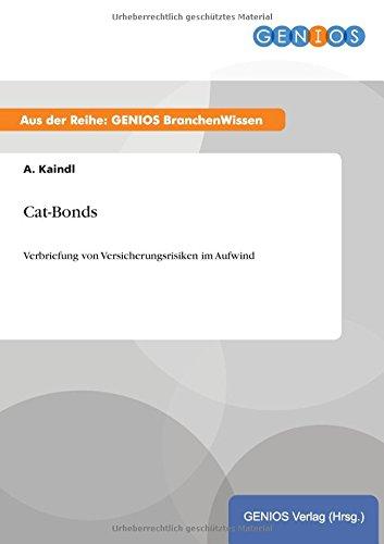 9783737954839: Cat-Bonds (German Edition)