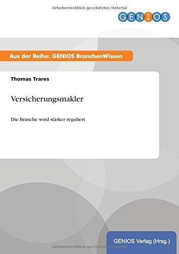 9783737955065: Versicherungsmakler (German Edition)