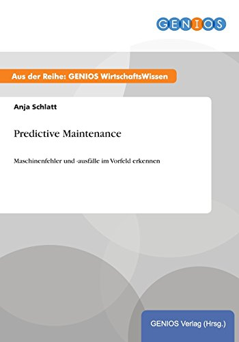 9783737958288: Predictive Maintenance (German Edition)