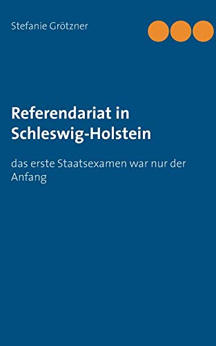 9783738608588: Referendariat in Schleswig-Holstein (German Edition)