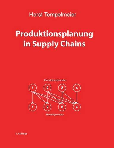 9783738636840: Produktionsplanung in Supply Chains (German Edition)