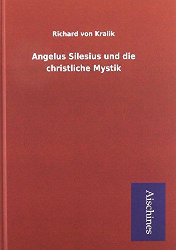 9783738726626: Angelus Silesius und die christliche Mystik