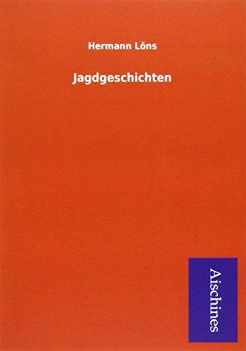 9783738781724: Jagdgeschichten