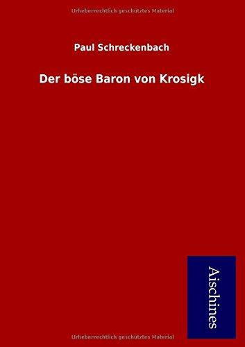 9783738783261: Der böse Baron von Krosigk