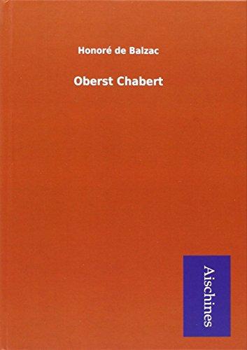 9783738789461: Oberst Chabert