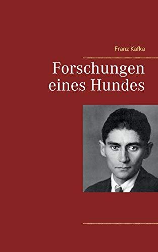 9783739246475: Forschungen Eines Hundes (German Edition)