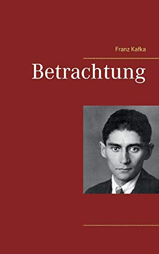 9783739248875: Betrachtung (German Edition)