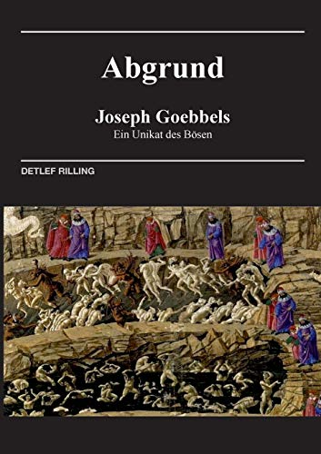 9783739272146: Joseph Goebbels - Abgrund (German Edition)