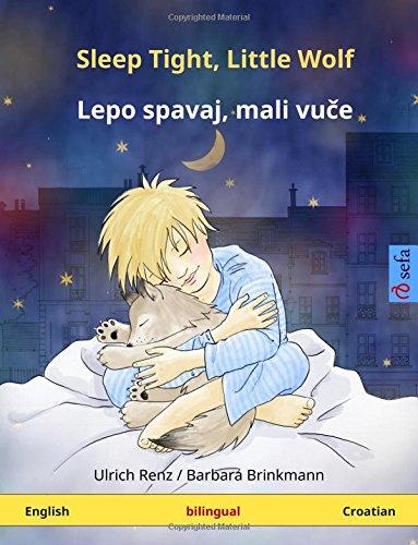 9783739941318: Sleep Tight, Little Wolf – Lepo spavai, mali vutche. Bilingual children's book (English – Serbian (lat.)) (www.childrens-books-bilingual.com)