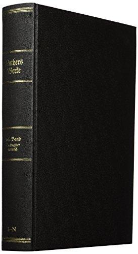 D. Martin Luthers Werke. Kritische Gesamtausgabe (Weimarer Ausgabe): Ulrich Köpf