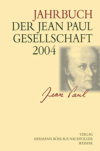 9783740012113: Jahrbuch der Jean Paul Gesellschaft 2004