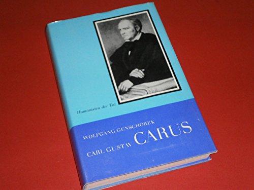 9783740100520: Carl Gustav Carus. Arzt, Künstler, Naturforscher