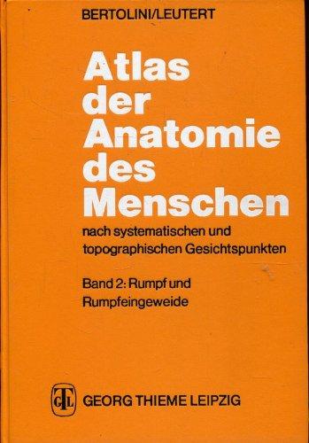 atlas der anatomie des von bertolini leutert - ZVAB