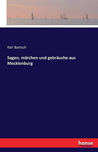9783741105104: Sagen, märchen und gebräuche aus Mecklenburg
