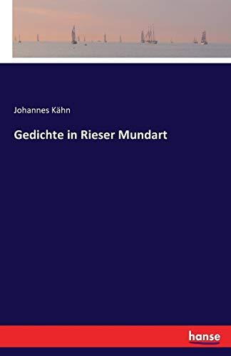 Gedichte in Rieser Mundart: Johannes Kahn