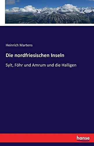 9783741127861: Die nordfriesischen Inseln