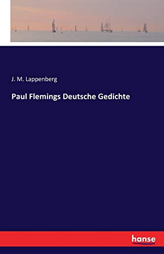 9783741129940: Paul Flemings Deutsche Gedichte