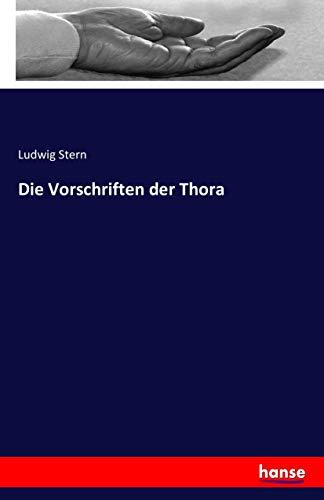 9783741138553: Die Vorschriften der Thora